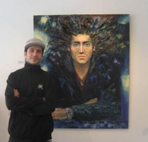joel med portræt 2008